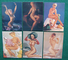 Vintage Nude Women/Glamour Pin Up Girls Lot/Collection - American Retro Art
