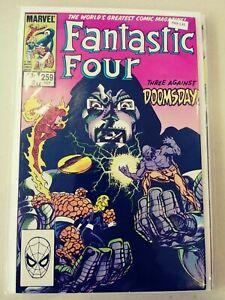 FANTASTIC FOUR 259 VF+ MARVEL PA9-139