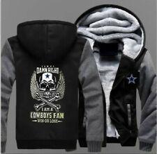 DALLAS COWBOYS thicken hoodie warm coat winter sweatshirt hooded jacket
