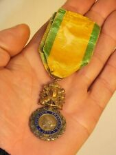 + Ancienne médaille émaillée 1870 Valeur et Discipline n°3 +