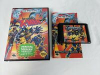 X-MEN SEGA GENESIS VIDEO GAME CIB COMPLETE