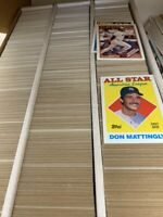 Baseball Card lot of 2000+ Cards LARGE Priority Mail Box 80'S AND 90'S RC Stars