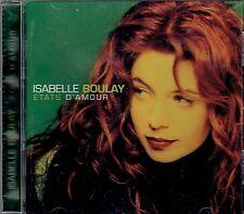 CD - ISABELLE BOULAY - Etats D'Amour