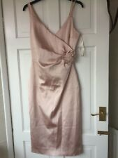 karen millen Party  wiggle dress size 10 Pale pink