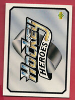 RARE 1992-93 UPD NO# HOCKEY HEROES WAYNE GRETZKY HEADER SP  INSERT  CARD