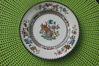 2 Spode England China Dinnerware Bread/Desert Plates Chinese Rose 2/9253