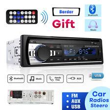 BLUETOOTH AUTORADIO MIT FREISPRECHEINRICHTUNG USB AUX SD MP3 1DIN Fernbedienung