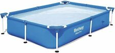 🌊 Bestway 7.25ft x 5ft x 17in Steel Pro Rectangular Above Ground Swimming Pool