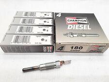 4-Diesel Glow Plugs Champion Spark Plug 180 CH80 Fast shipping