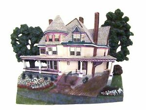 Popular Imports Victorian House Sculpted Wall Art and Home Decor Figurine #30486