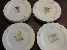 """Castleton 9 1/8"""" 18 Accent Plates 4 Flowers"""