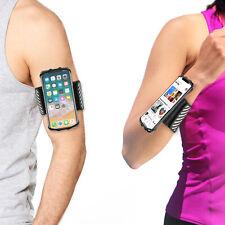 TFY Sport Armband Run Wristband Phone Holder for 4.5 - 6 inch / i Phone X / 8