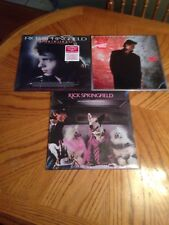 RICK SPRINGFIELD LOT (3) LP VINYL TAO HARD TO HOLD COLLECTION NEW & SEALED