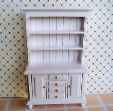1:12 Miniatur - Küchenbüfett Gewürzschrank - Weiß / Puppenhaus