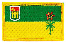 FLAG PATCH PATCHES SASKATCHEWAN  PROVINCIAL IRON ON EMBROIDERED SMALL CANADA
