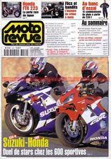 MOTO REVUE 3449 HONDA CBR 600 FTR SUZUKI GSX-R BMW R100 RT YAMAHA Aerox YQ 100