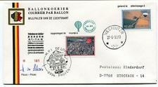 1983 Ballonpost Pro Juventute Aerostato HB-BEK Pestalozzi Westouter Proven SIGN