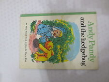 Andy Pandy and the Hedgehog, by Maria Bird, vintage children's book 1973