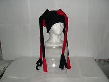 Fleece Jester Hat 4 Point Pick your own solid colors NEW