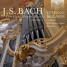 Bach / Stefano - Complete Organ Music 2 [New CD] Boxed Set