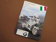 BMW r850rt r1150rt uso e manutenzione istruzioni per l'uso 7798386