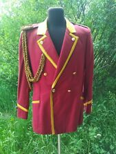 Military USSR Army Musicant Tunic Uniform Jacket  Size: M