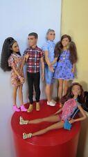 Lotto Barbie e Ken Fashionistas solo deboxati, nuovi!