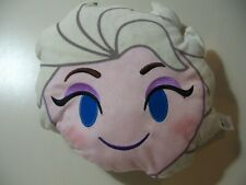 "11"" x 10"" plush Elsa from Frozen pillow, good condition"