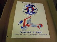 Vintage 1992 Souvenir Program Alexandria Air Fest Minnesota Minn. MN