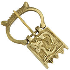 Crown of Glory Medieval Brass Buckle Renaissance Costume Cosplay LARP
