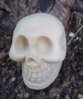 """Latex only mini skull mold plaster rapid set cement all mould 1.5"""" x 1.5"""""""