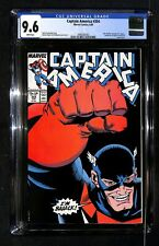 CAPTAIN AMERICA #354 CGC 9.6 - John Walker Becomes U.S. Agent! - Marvel Comics