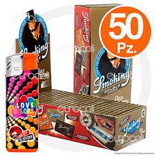 Cartine SMOKING ORO CORTE DOPPIE gold - 2 scatole 50pz