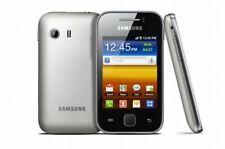 Samsung Galaxy YS5360 Plateado Desbloqueado Teléfono inteligente Reino Unido Vendedor grado C
