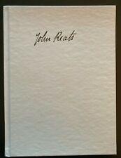 John Keats Poetry Manuscripts at Harvard, facsimile edition, ed. Stillinger