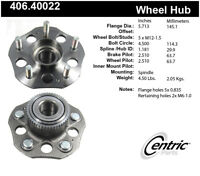 Rear Wheel Hub Assembly For 1997-2001 Honda Prelude 1999 1998 2000 Centric