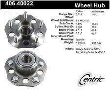 Wheel Bearing and Hub Assembly-Premium Hubs Rear fits 97-01 Honda Prelude