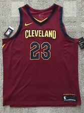 Nike Lebron James Cleveland Cavaliers Icon Jersey 863018 677 Mens Sz 56 2xl