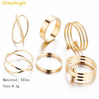Gold Colour Alloy Ring Tran-ding stylish finger tail Ring Toe Knuckle Top Finger