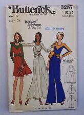 Vtg Betsey Johnson Alley Cat Butterick 3287 Dress, Tunic & Pants Size 12 Uncut