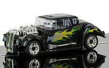 C3708 scalextric slot car quick build hot rod noir crâne-new in box uk