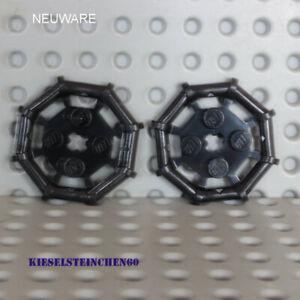 75937  LEGO®  2x Platte 2x2 mit oktagonalem Rahmen - schwarz - 6018805