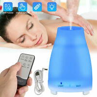 7 Color LED Essential Oil Diffuser Aromatherapy Mist Ultrasonic Air Humidifier