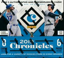 Panini Chronicles Baseball 2019 Hobby Box