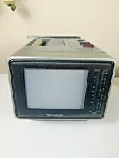 Realistic Portavision Portable Mini TV Television with Rare Battery Attachment!