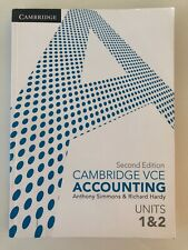 Simon and Hardy Cambridge VCE Accounting Units 1&2 Second Edition