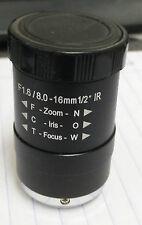 """Arecont MPL8-16 f1.6, 8-16mm,1/2"""", IR CS-mount, IR Corrected - FREE SHIP!"""