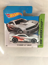 HOT WHEELS 12 CAMARO ZL1 CONCEPT 246/250 NEU NEW OVP SHORT CARD