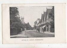Upper St Johns Sevenoaks Kent 1904 Postcard 550b