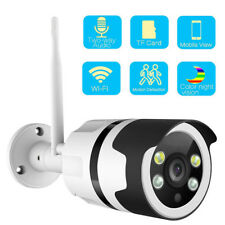 720P Wifi Security Two Way Audio Color Night Vision Outdoor Onvif IP Camera